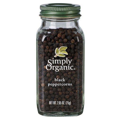 Simply Organic Black Peppercorns