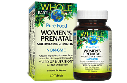 Whole Earth and Sea Women's Prenatal Multivitamin and Mineral