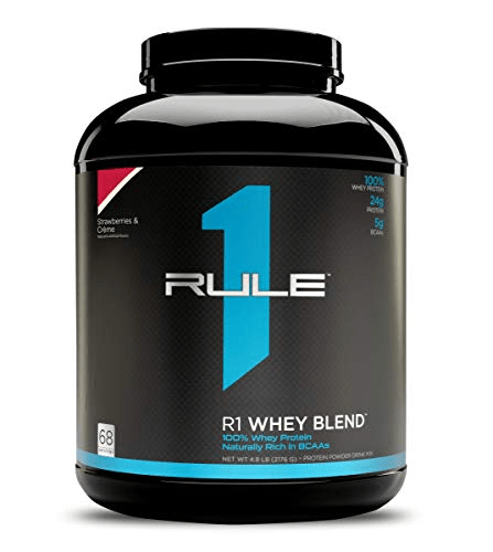 Rule One Whey Blend Strawberry & Creme