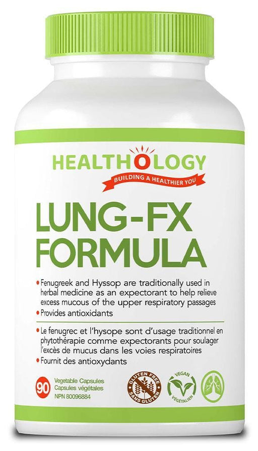 Healthology Lung-FX Formula 90 V-Caps