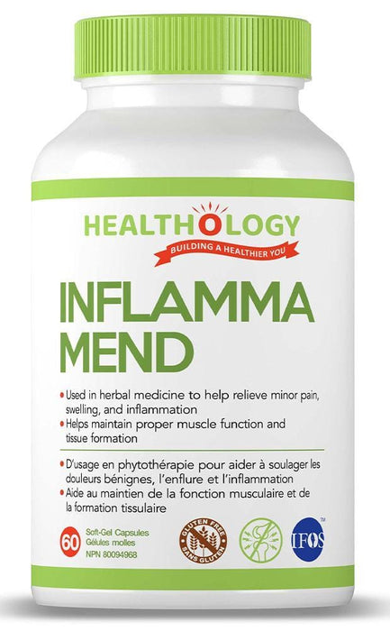Healthology Inflamma Mend 60 Softgels