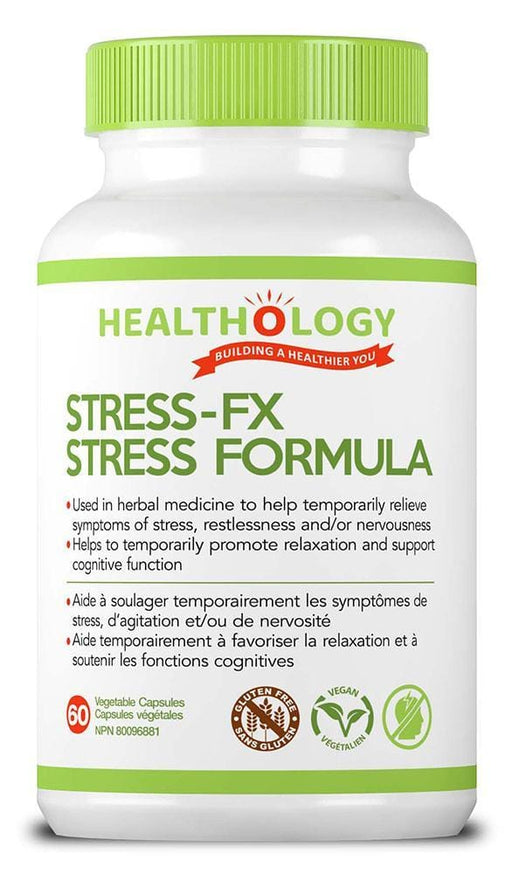 Healthology Stress-FX Formula 60 V-Caps