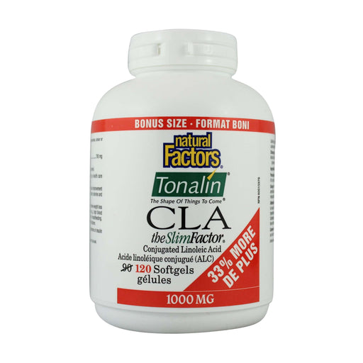 Natural Factors CLA Tonalin 1000 mg BONUS SIZE