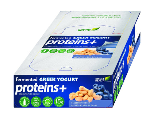 Genuine Health Fermented Greek Yogurt Proteins+ - Blueberry Cashew
