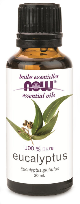 NOW Eucalyptus Oil (Eucalyptus globulus) 30 mL
