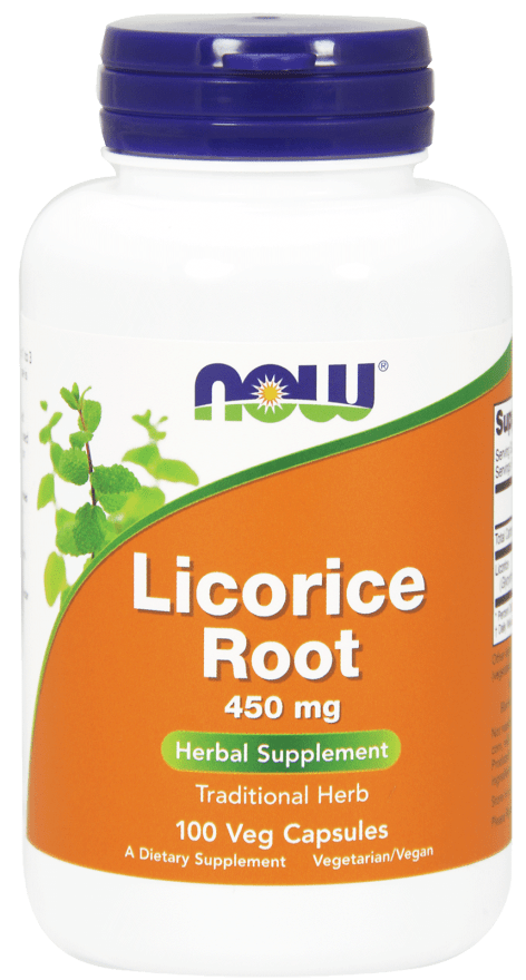 NOW Licorice Root 450 mg 100 V-Caps