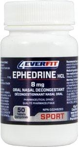 4EverFit Ephedrine HCL Oral Nasal Decongestant (Only available in Canada)