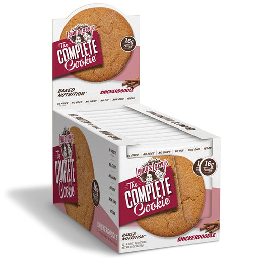 Lenny & Larry's The Complete Cookie Snickerdoodle Box of 12 - 113 g Cookies