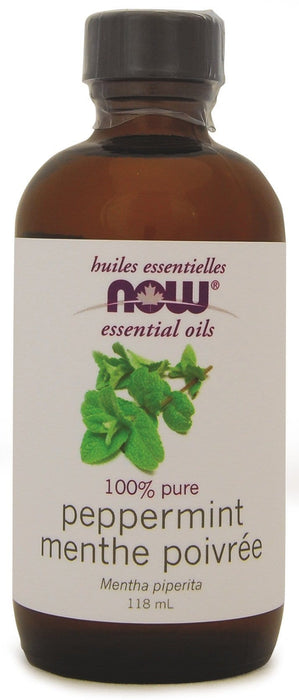 NOW Peppermint Oil 118 mL