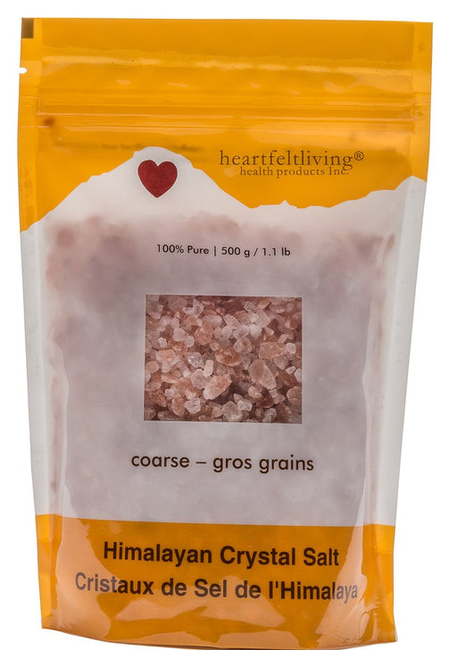 Heartfelt Living Himalayan Crystal Salt - Coarse