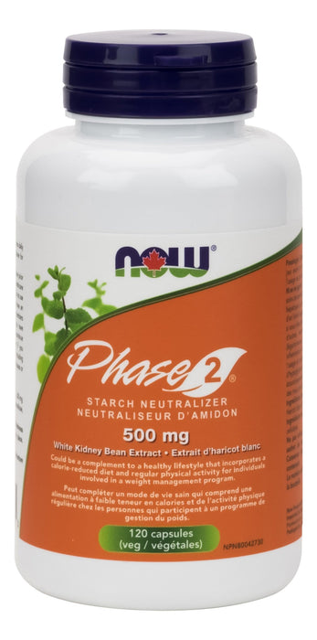 NOW Phase-2 Starch Block 500mg