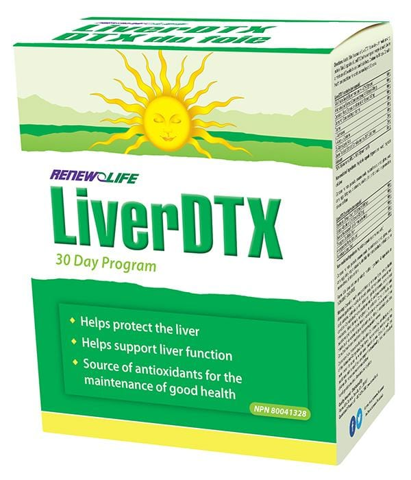 Renew Life LiverDTX Cleansing Kit
