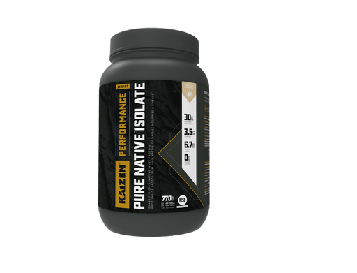 Kaizen Performance Series Pure Native Isolate Vanilla
