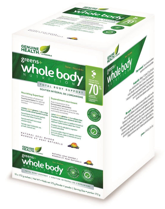 Genuine Health Greens+ Whole Body Nutrition Box - Acai Mango