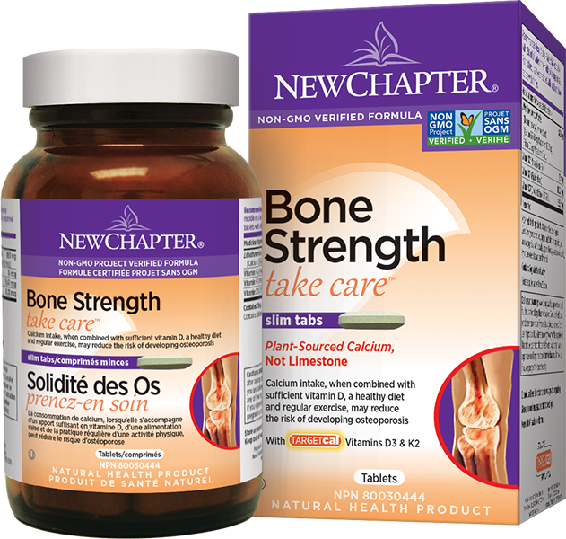 New Chapter Bone Strength Take Care 180 Tablets