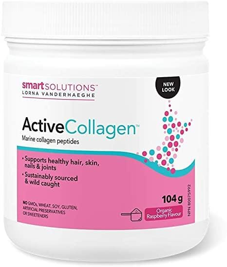 Smart Solutions Active Collagen Drink Mix Organic Raspberry Flavour