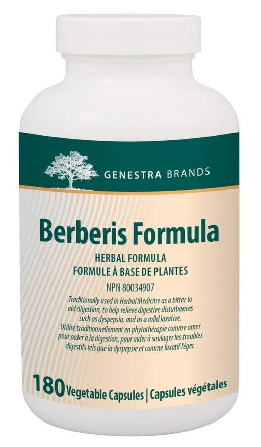 Genestra Berberis Formula Vegetable Capsules