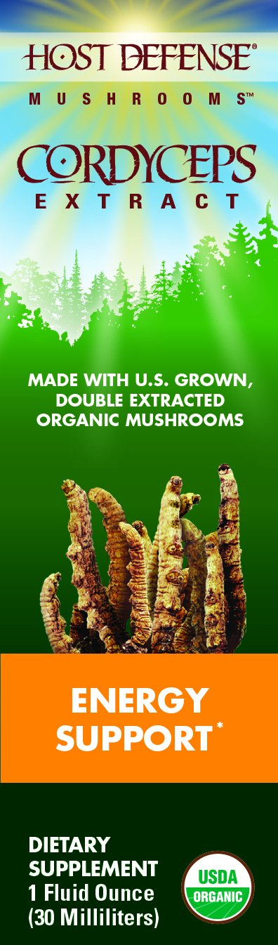 Host Defense Cordyceps Extract - Energy Support