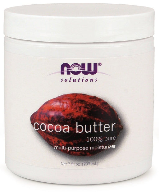 NOW Cocoa Butter, 100%  Pure 207mL