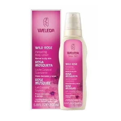 Weleda Wild Rose Pampering Body Lotion 6.8 fl oz/200ml