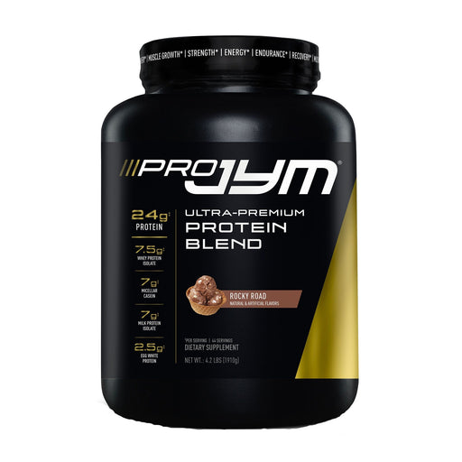 JYM PRO Protein Blend 4 lb 45 Servings - Rocky Road (Short Dated)