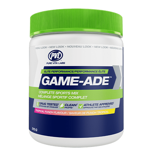 PVL Game-Ade Tropical Punch 210 g