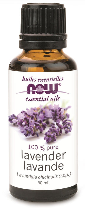 NOW Lavender Oil (Lavandula angustifolia) 30 mL