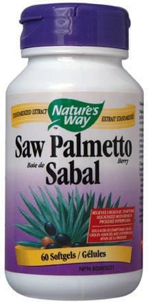 Nature's Way Saw Palmetto Standardized
