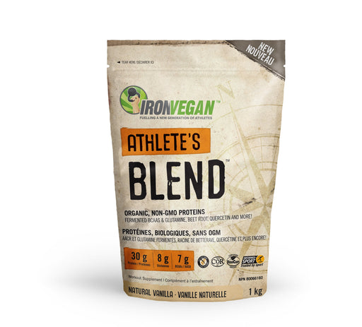 Iron Vegan Athlete's Blend - Natural Vanilla