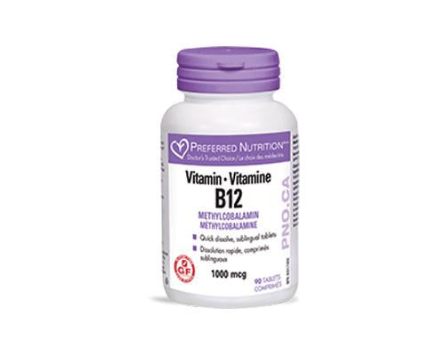 Preferred Nutrition Vitamin B12 Methylcobalamin