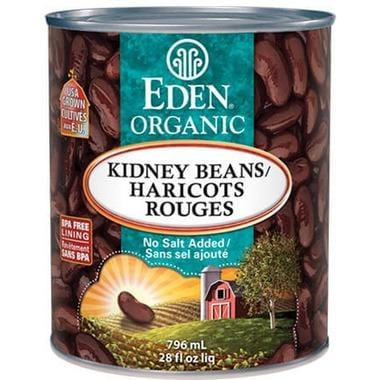 Eden Foods Organic Canned Kidney Beans 796 ml