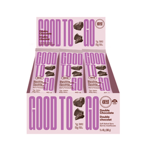 GoodTo Go Double Chocolate Keto Bars 9x40 g