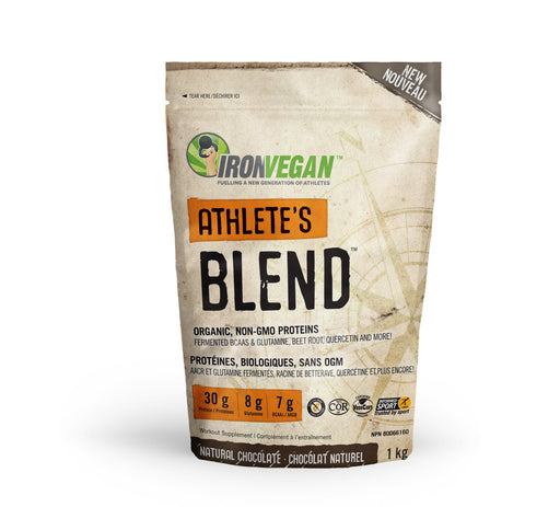 Iron Vegan Athlete's Blend - Natural Chocolate