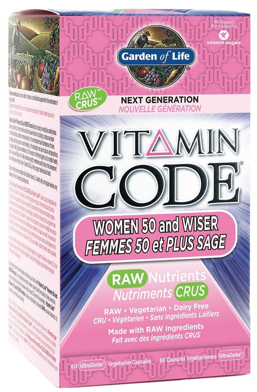 Garden of Life Vitamin Code - Women 50 and Wiser