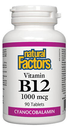 Natural Factors Vitamin B12 1000 mg