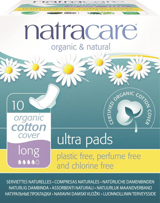 Natracare Ultra Pads with Wings Long
