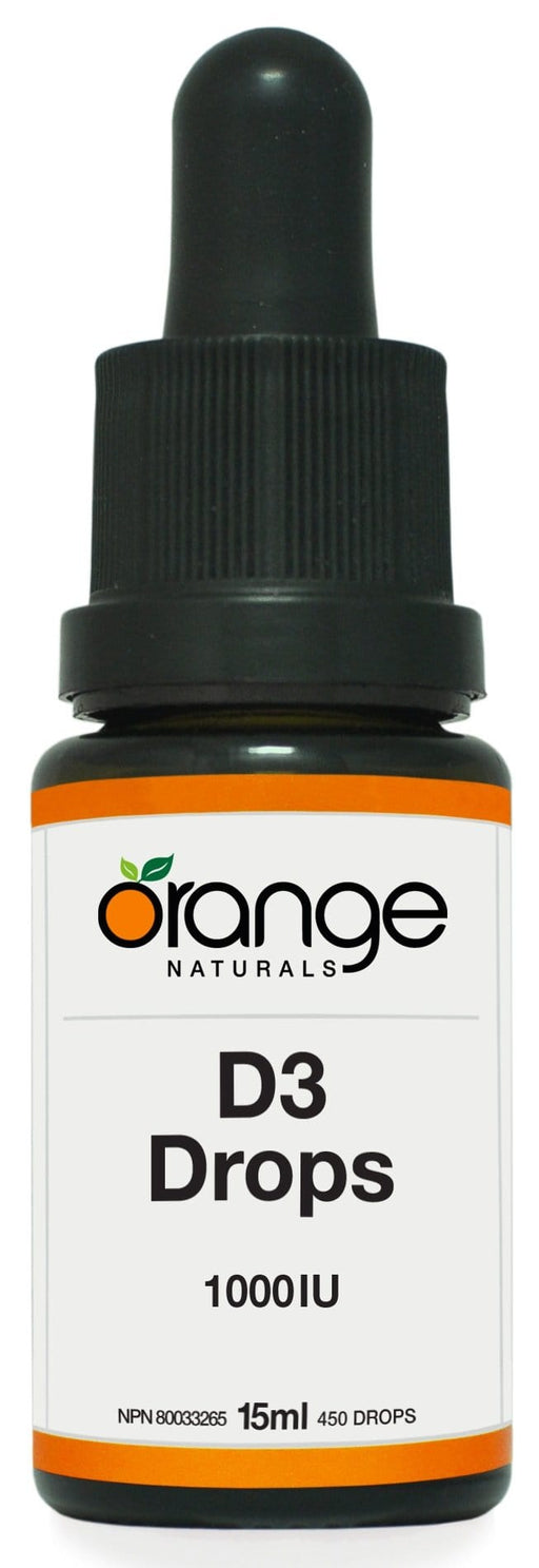 Orange Naturals D3 Drops 1000IU orange MCT base