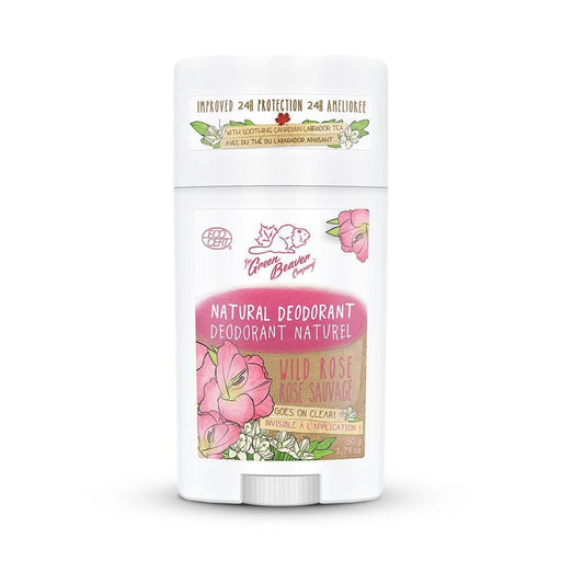 Green Beaver Wild Rose Natural Deodorant