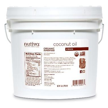 Nutiva Organic Virgin Coconut Oil 3.79 L