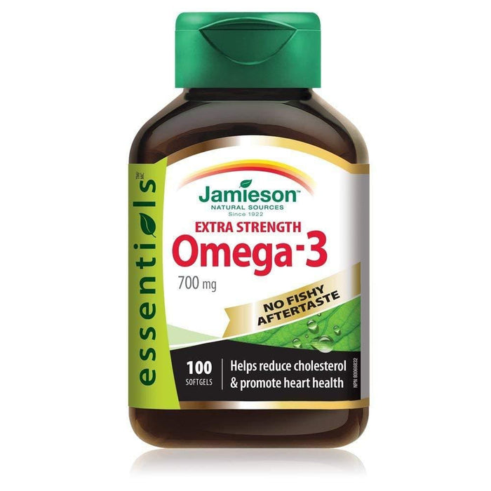 Jamieson Extra Strength Omega-3 700 mg 100 Softgels