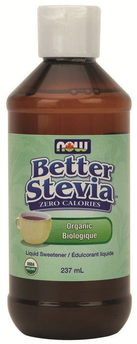 NOW Better Stevia Organic Liquid Sweetener