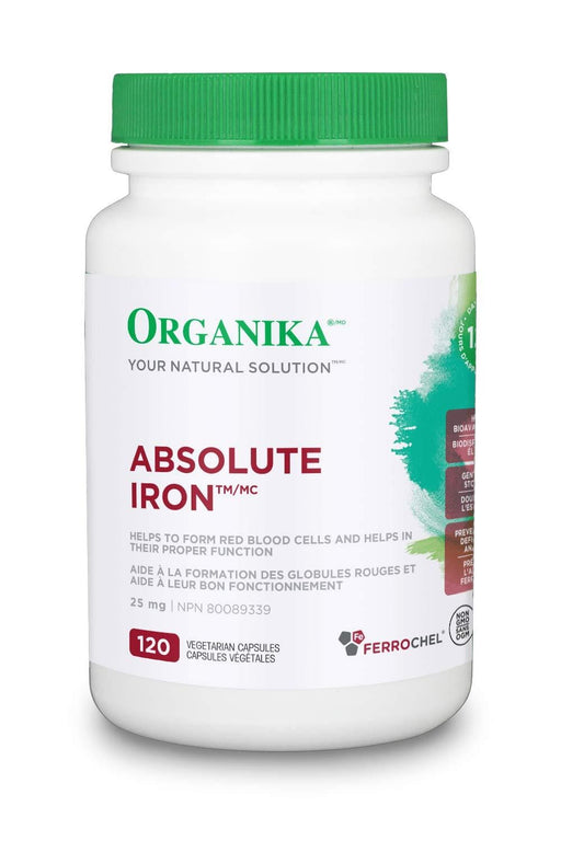 Organika Absolute Iron 120 Capsules