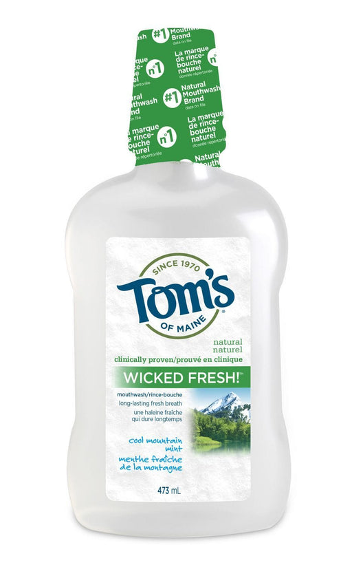 Tom's Of Maine Cleansing Natural Mouthwash - Wicked Fresh