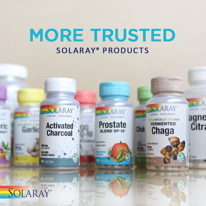 Solaray Vitamin C with Rose Hips, Acerola & Bioflavonoids 1000mg 100 V-Caps