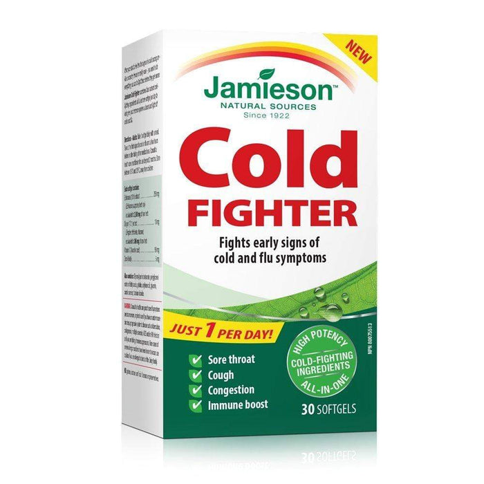 Jamieson Cold Fighter 30 Softgels (Short Dated)