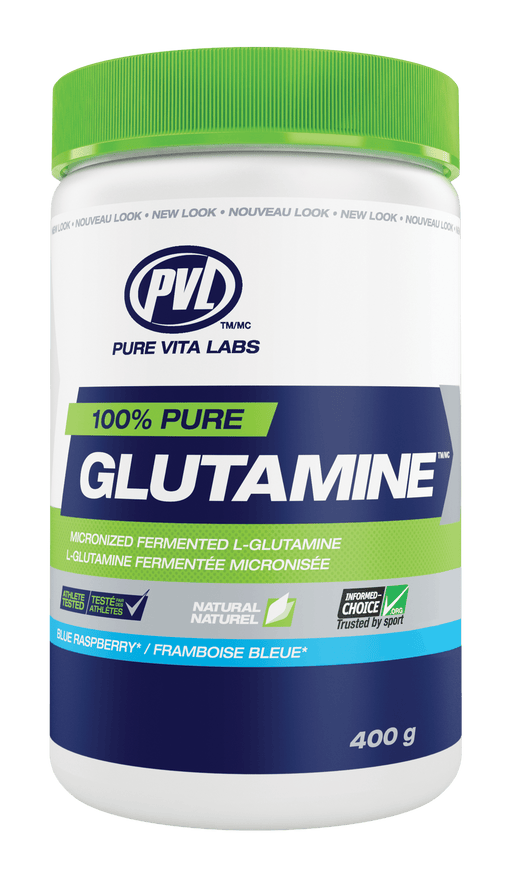 PVL Essentials 100% Pure Glutamine - Blue Raspberry