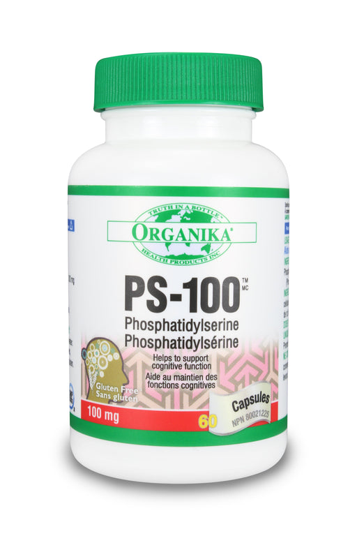Organika PS-100 (PHOSPHATIDYLSERINE) 100 mg