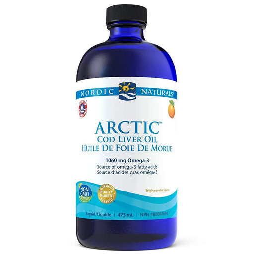 Nordic Naturals Arctic Cod Liver Oil Orange 473 ml