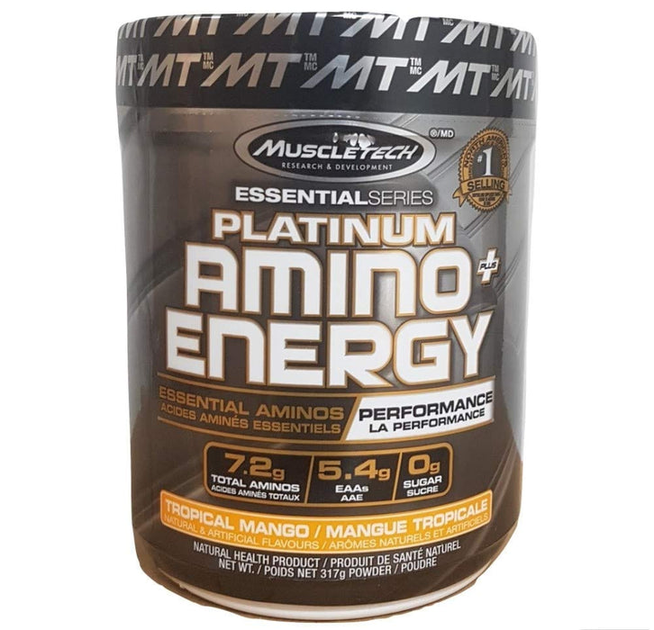 MuscleTech Platinum Amino+Energy Tropical Mango 317 g