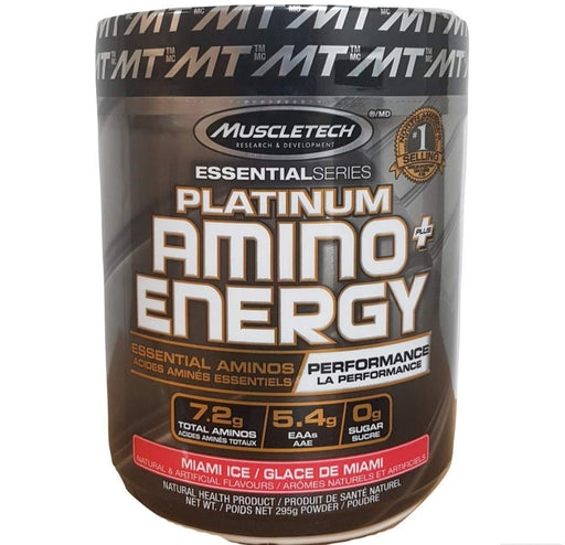 MuscleTech Platinum Amino+Energy Miami Ice 295 g